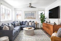 home interior design living room Cozy Living Rooms, Home Living Room, Living Room Designs, Living Room Furniture, Living Room Decor, Living Spaces, Small Living, Basement Furniture, Furniture Ideas