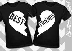 Best Friends - Women's BFF Set on Etsy, $38.00