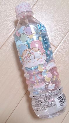 Everything that I touch must be cute… Yeah even a water bottle