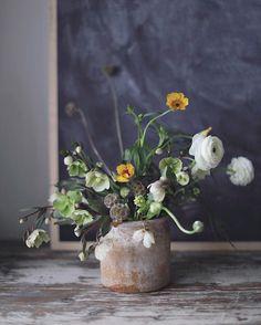"""31 Likes, 2 Comments - Kreetta Järvenpää Photography (@kreettakreetta) on Instagram: """"Accidental flower arrangement. Just blocked the ones alive from my photoshooting. #pursuepretty…"""""""