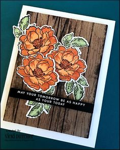 All I Do Is Stamp-- Designs by Vicki Dutcher: Just Us Girls Challenge #559 - Photo Inspiration Week