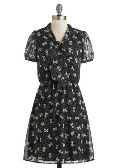 Here We Bow Again Dress, #ModCloth, $54.99