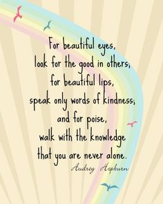 this would be great at a dressing table or in a young adolescent girl's bedroom. love the wisdom of audrey.
