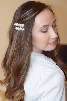 Hair pins - new favourite accessories Hair Pins, Latest Trends, Hair Accessories, Girly, Feminine, Summer Dresses, Stylish, Earrings, Fashion