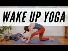 Wake Up Yoga – 11 Minute Morning Yoga Practice – Yoga With Adriene – Exercises and Fitness Pilates Workout, Pilates Reformer, Triceps Workout, Pilates Yoga, Yoga Playlist, Yoga Youtube, Yoga For All, How To Do Yoga, Yoga Session