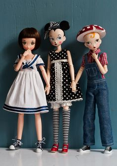 obitsu custom dolls - - - which one you would choose?