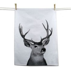 Tea Towel - Cow or Stag