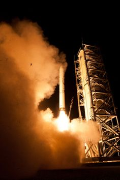 "1 small step for man, 1 giant leap...for a frog! Yup a frog. NASA's LADEE spacecraft launch last week.   Officials confirmed the frog in the photo is real & was captured in 1 of their photos. The launchpad is surrounded by water & obviously took this critter by surprise. NASA reports that the fate of the frog is ""uncertain."""