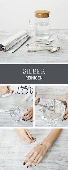 Alltagshelfer: Tipps, wie Du Silber reinigen kannst / clean your silver home decor with this tip via DaWanda.com