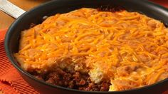 Weeknight easy!  Classic sloppy joes in a skillet; no need for buns.