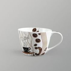 Clay Craft India Cappuccino Milk Mug Brown And White Hobbies And Interests, Can Design, Clay Crafts, Coffee Mugs, Ceramics, Tableware, Prints, Milk, Stuff To Buy