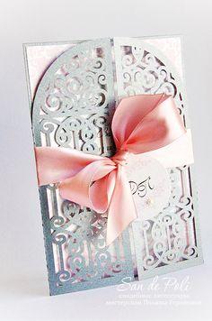 Wedding invitation Card 5x7 Template iron door от EasyCutPrintPD