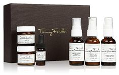 Tammy Fender Travel Kit for Sensitive/Dry Skin - Cruelty-free, vegan, GMO-free, made in the USA, all-natural and BPA free--the best in luxury with the purest ingredients. Holistic skincare for the ultimate jetsetter. Dry Sensitive Skin, Dry Skin, Anti Aging Treatments, Travel Toiletries, Tear, Face Skin Care, Travel Kits, Travel Bag, Travel Size Products