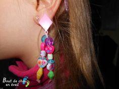 Créer des boucles d'oreilles avec des perles