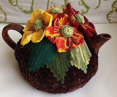 NEW-Handmade-Tea-Cozy-Fall-Time-from-Ukrainian-Designer-Unique