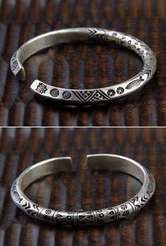 d6b1b6cb42a Fine Silver Handmade Bold Cuff Bracelet. Diamond BraceletsSterling Silver  BraceletsCuff BraceletsMetal BraceletsMens ...