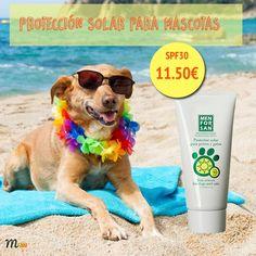 #crema #protección #solar #sol #mascotas #playa #perros #gatos #mascoweb