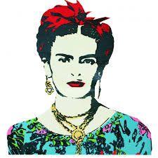 Resultado de imagen de frida kahlo estampa