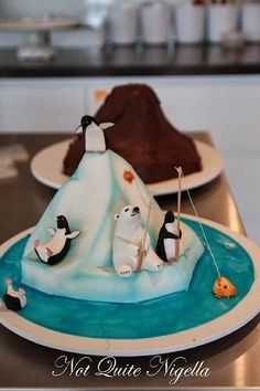 WINTER CAKE IDEAS & INSPIRATIONS