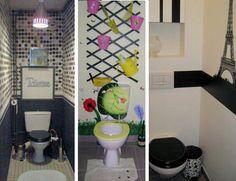 D co toilette id e et tendance pour des wc zen ou pop d coration zen et pop for Idee deco wc zen