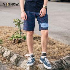 VIISHOW Summer Shorts Men Cotton Shorts Mens Camouflage Army Short Men Homme short masculinoKD1239172