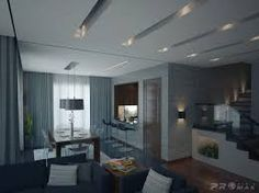 Image result for modern living room recessed