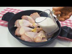 Acum gătesc puiul doar așa! - YouTube
