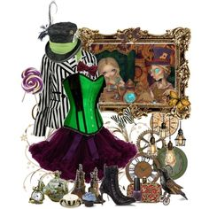 """""""Steampunk Mad Hatter"""" by cyanideteaparty on Polyvore"""
