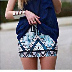 Aztec style?