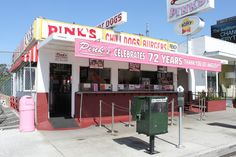 Pink's in Los Angeles