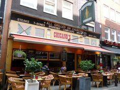 Chicano's, Amsterdam, Holland.  Photo by Catherine S. Ramírez.