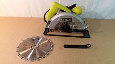 "Ryobi csb125 7-1/4"" circular saw, Tools, Home, Repair, wood working 01242017.19 #Ryobi"