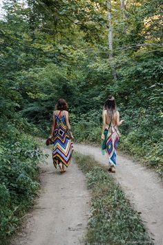 Купить Бохо-хиппи forever - Вязание крючком, хиппи, сарафан, летнее платье, вяжу на заказ