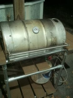 How to make a grill out of a beer keg