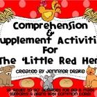 Are you teaching a unit on 'The Little Red Hen' and would love a pack of comprehension