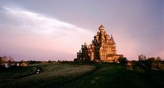 The wooden Church of the Transfiguration of Our Savior on Kizhi Island, Russia. (From: Hidden Man-made Wonders of the World)