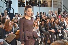 """Défilé, thème """"Tweed et Carreaux"""", tailleur   www.mode-estah.fr"""
