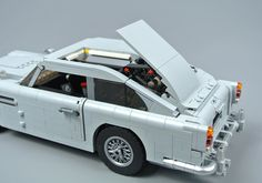 Review: 10262 James Bond Aston Martin DB5 | Brickset: LEGO set guide and database Lego Kits, Aston Martin Db5, Lego Creations, James Bond, Car, Automobile, Cars