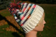 Hey, I found this really awesome Etsy listing at https://www.etsy.com/listing/169873620/kids-crochet-beanie-hat-multi-colored
