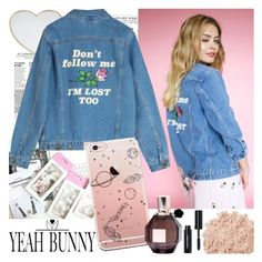 """""""YEAH BUNNY"""" by gaby-mil ❤ liked on Polyvore featuring Gucci, Viktor & Rolf, La Mer, Bobbi Brown Cosmetics, iphone and case"""