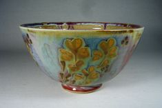 Ceramics by John Calver at Studiopottery.co.uk - <b>Round Bowl 19cms diameter, 10cms tall.</b><br>Post and packing extra.