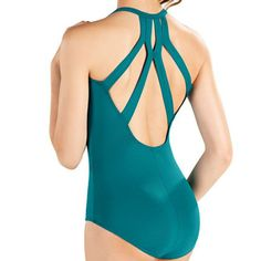 So Danca D354 Adult Camisole Leotard W/ Fashion Back