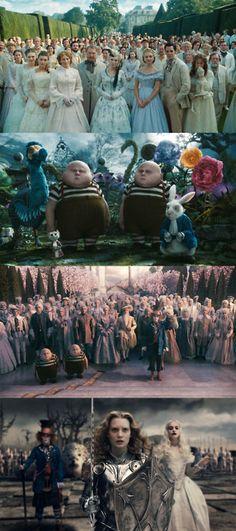 Alice In Wonderland, 2010 (dir. Tim Burton)
