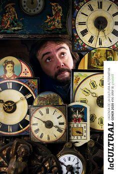 portada revista de cultura. Gener 2020 #96 #vintvint #rellotge