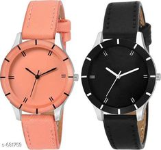 Checkout this latest Analog Watches Product Name: *Stylish Women's Watches (Set Of 2) * Strap Material: Leather Date Display: No Dial Color: Black Dial Design: Solid Dial Shape: Round Dual Time: No Gps: No Light: No Multipack: 2 Sizes:  Free Size Country of Origin: India Easy Returns Available In Case Of Any Issue   Catalog Rating: ★4 (3252)  Catalog Name: Classy Ladies Watches Combo Vol 3 CatalogID_77343 C72-SC1087 Code: 442-681759-954