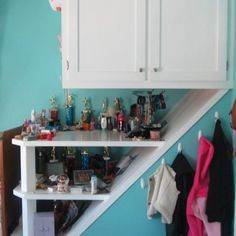 Image result for over stairs bulkhead storage ideas