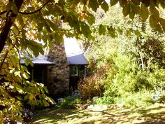 Hurst, 102 Pembroke Road, is a heritage-listed property in the Edna Walling created Bickleigh Vale village in Mooroolbark, Victoria Stone Chimney, Homestead Farm, Australian Garden, Love Her Style, Horticulture, More Photos, Homesteading, Landscape Design, Worship