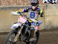 Billy Van Eerde was unstoppable in the 250cc 13-16 yrs crown, winning from Mackenzie Childs and Kye Andrews aboard his Husqvarna FC250.