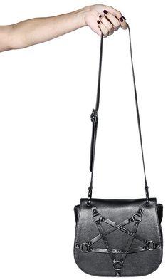 426686aa09d Blackcraft - Pentagram Harness Saddle Crossbody Bag - Buy Online Australia  – Beserk Halloween Music,