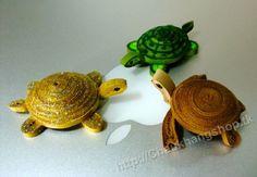 3D Model mammals - Three cute little turtles - by: www.Chaukhangshop.tk